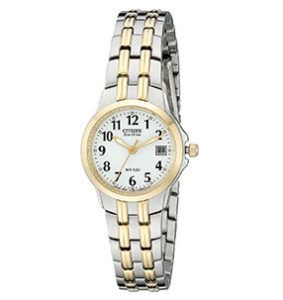 Citizen Watch Reviews of Citizen Eco-Drive Women's EW1544-53A Silhouette Two-Tone Stainless Steel Watch
