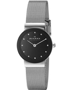 Skagen Watch Reviews of Skagen Women's 358SSSBD Freja Stainless Steel Watch with Crystal Indices