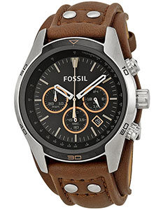 Fossil Watch Reviews of Fossil Men's CH2891 Coachman Chronograph Brown Leather Watch