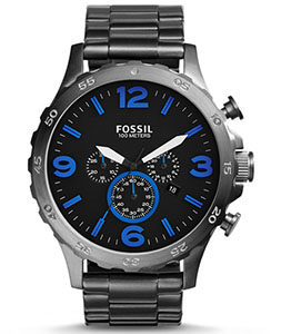 Fossil Watch Reviews of Fossil Men's JR1478 Nate Chronograph Stainless Steel Watch