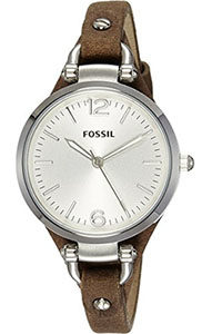 Fossil Watch Reviews of Fossil Women's ES3060 Georgia Three Hand Tan Leather Strap Watch