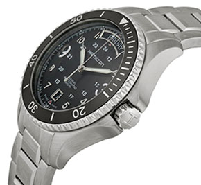 Hamilton Khaki Navy Scuba Auto day and date watch for men