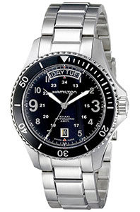 Hamilton Watch Reviews of Hamilton Khaki Navy Scuba Auto day and date watch for men