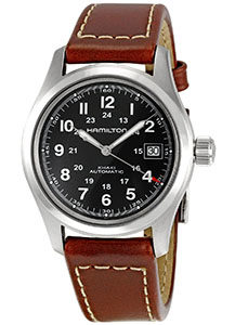 Hamilton Watch Reviews of Hamilton Men's HML-H70455533 Khaki Field Black Dial Watch