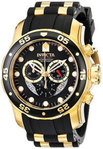 Invicta Watches Review of Invicta Men's 6981 Pro Diver Analog Swiss Chronograph Black Polyurethane Watch