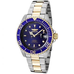 Invicta Watches Review of Invicta Men's 8928OB Pro Diver 23k Gold-Plated and Stainless Steel Two-Tone Automatic Watch
