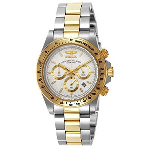 Invicta Watches Review of Invicta Men's 9212 Speedway Analog Japanese Quartz Chronograph Stainless Steel Watch