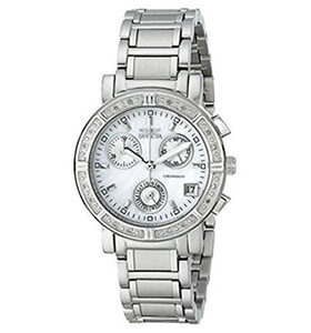 Invicta Watches Review of Invicta Women's 4718 II Collection Limited Edition Diamond Chronograph Watch