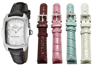 Invicta Watches Review of Invicta Women's 5168 Baby Lupah Collection Interchangeable Watch Set