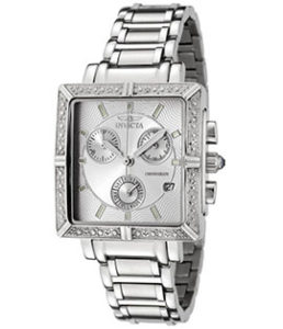 Invicta Watches Review of Invicta Women's 5377 Angel Diamond-Accented Stainless Steel Watch