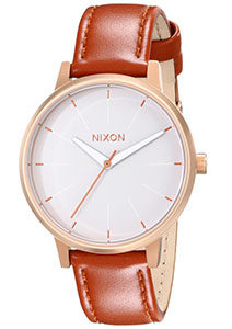 Nixon Watches Review of Nixon Women's Kensington Stainless Steel Watch with Leather Band