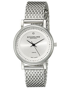 Stuhrling Watches Review of Stuhrling Original Women's 734LM.01 Ascot Casatorra Elite Stainless Steel Watch with Diamond