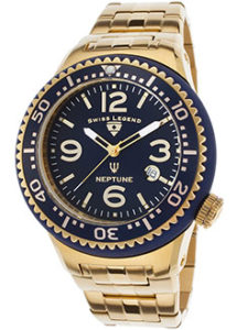 Swiss Legend Watches Review of Swiss Legend Men's 21848P-YG-33-GB Neptune Force Analog Display Swiss Quartz Gold Watch