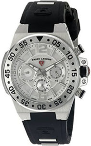 Swiss Legend Watches Review of Swiss Legend Watches Opus Multi-Function Silicone Band Watch