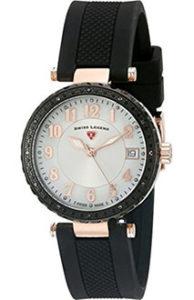 Swiss Legend Watches Review of Swiss Legend Women's 16002SM-RG-02-BB Sea Breeze Analog Display Swiss Quartz Black Watch