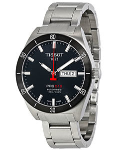 Tissot Watches Review of Tissot Men's T0444302105100 PRS 516 Stainless Steel Watch