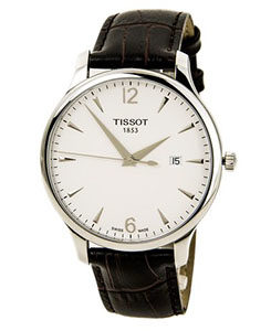 Tissot Watches Review of Tissot T-Classic Tissot Tradition Silver Dial Men's watch #T063.610.16.037.00