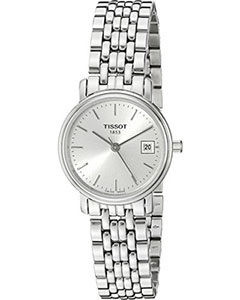Tissot Watches Review of Tissot Women's T52128131 T-Classic Desire Stainless Steel Watch