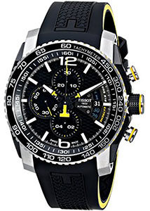 Best Mens Watches Under 1000 of Tissot Men's T0794272705701 PRS 516 Analog Display Swiss Automatic Black Watch