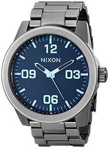 Best Mens Watches Under 200 of Nixon Men's Corporal Stainless Steel Watch
