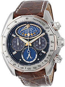 Best Watches Under 1000 of Citizen Men's AV3006-09E The Signature Collection Eco-Drive Moon Phase Flyback Chronograph Watch