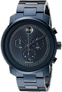 Best Watches Under 1000 of Movado Men's 3600279 Blue Stainless Steel Watch