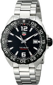 Best Watches Under 1000 of TAG Heuer Men's WAZ1110.BA0875 Stainless Steel Watch