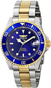 Best Watches Under 200 of Invicta Men's 8928OB Pro Diver Gold Stainless Steel Two-Tone Automatic Watch