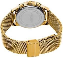 Akribos Watches Review of Akribos XXIV Men's AK625YGB Round Black Dial Chronograph Quartz Stainless Steel Bracelet Watch