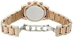 Akribos Watches Review of Akribos XXIV Women's AK872RG Round Rose Gold Ion-Plated Crystal Accent Watch