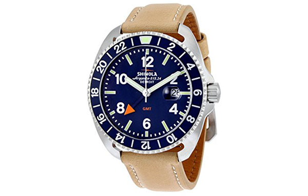 Shinola Watch Review of Shinola The Rambler Dark Royal Blue Dial Stainless Steel Mens Watch 11000158