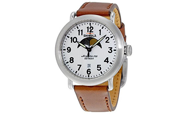 Shinola Watch Review of Shinola The Runwell Moon Phase White Dial Mens Watch 12001112