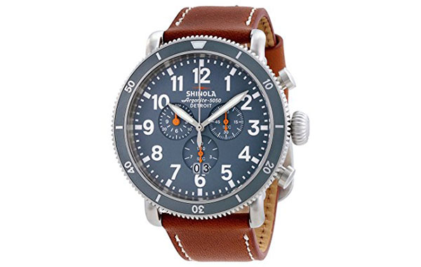 Shinola Watch Review of Shinola The Runwell Sport Chrono Slate Grey Dial Mens Watch 12001121